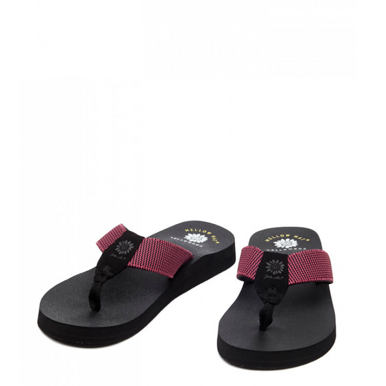 Yellow Box Jinx Sandal - Fuchsia 25959