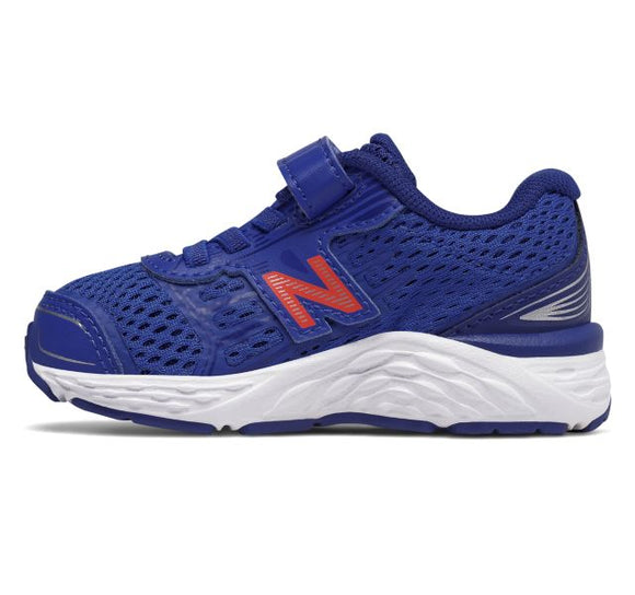 New Balance Infant Boy's 680v5 Tennis Shoe - Pacific/Dynamite KA680PDI - ShoeShackOnline