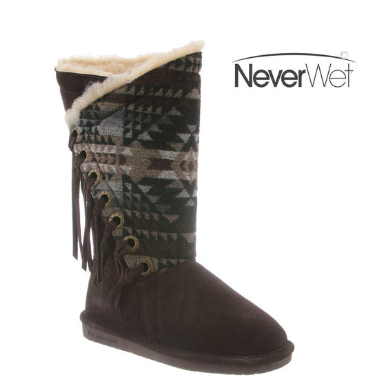 Bearpaw Women's Kathy - Chocolate/Black 1907W-235 - ShoeShackOnline