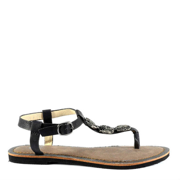 Corkys Women's Medallion | Black 40-3220 - ShoeShackOnline