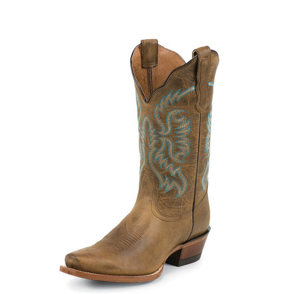 Nocona Women's Old West Fashion Western Boots - Tan NL5009