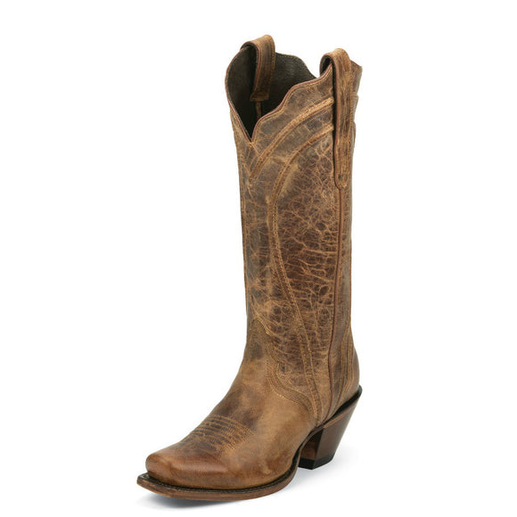 Nocona Women's Old West Fashion Western Boots - Tan NL5015 - ShoeShackOnline