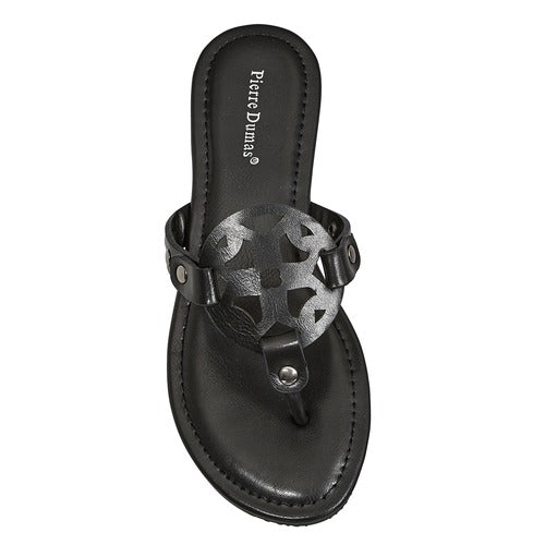Pierre Dumas Women's Limit-20 Sandal Black 21040-101