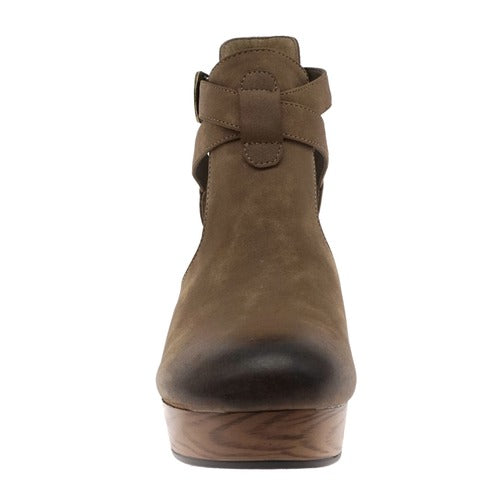 Pierre Dumas Women's Ponce-2 Ankle Bootie Taupe 89976-434