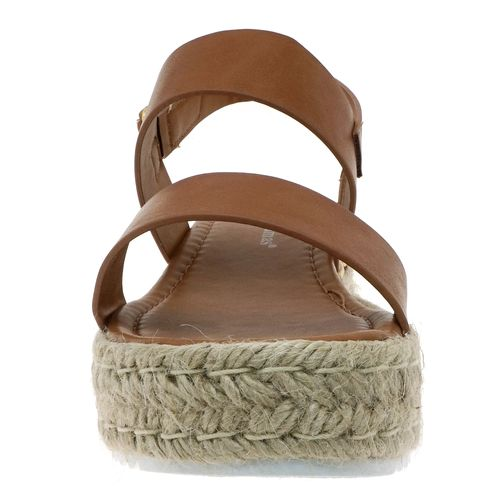 Pierre Dumas Women's Magic-1 Platform Sandal New Tan 22562-120