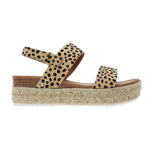 Pierre Dumas Women's Magic-1 Platform Sandal Cheetah Print 22562-450