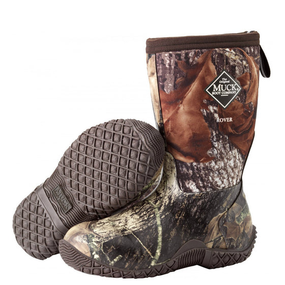 Muck Boots Kid's Rover II Outdoor Sport Boot - Mossy Oak Break-Up RVT-MOBU - ShoeShackOnline