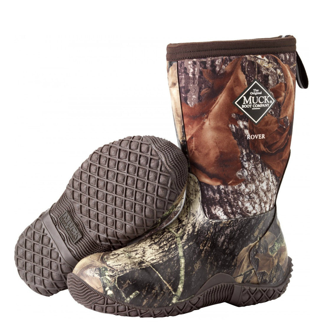 Muck Boots Kid's Rover II Outdoor Sport Boot - Mossy Oak Break-Up RVT-MOBU