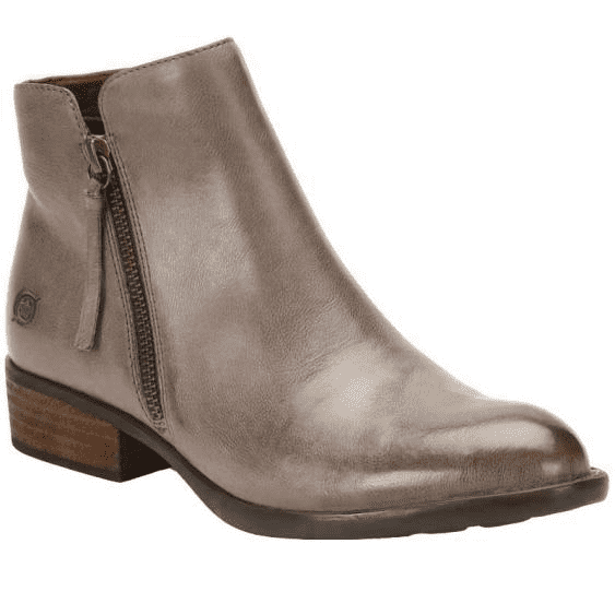 Born Women's Olio Leather Ankle Boot F71822 - ShoeShackOnline