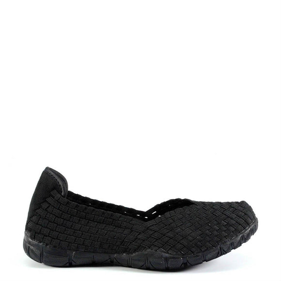 Corkys Women's Sidewalk | Black 50-7057 - ShoeShackOnline