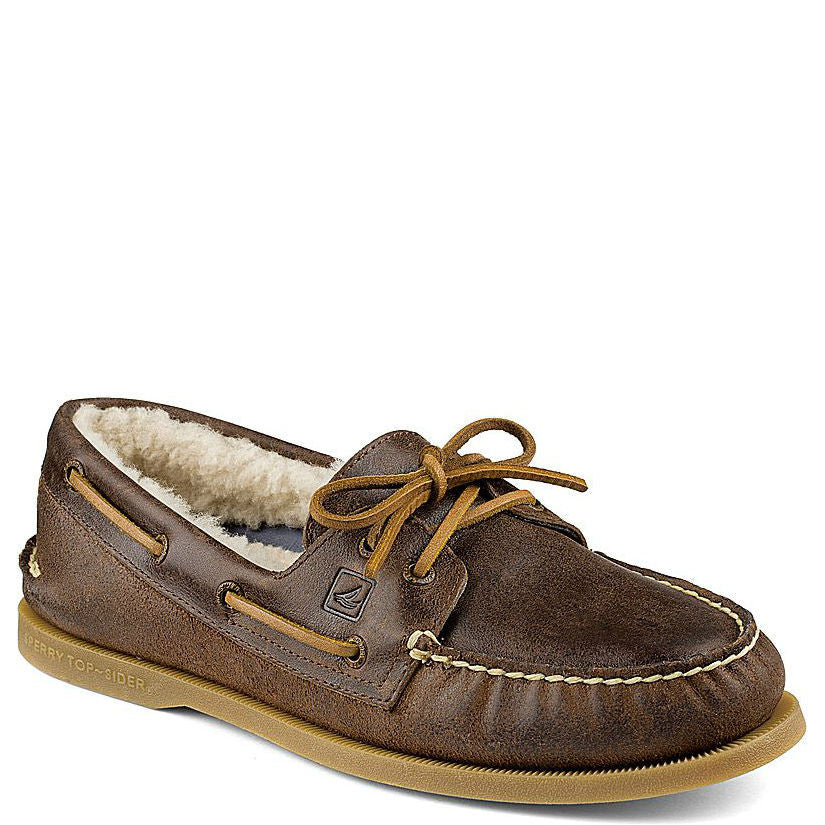 781f3f081ae Sperry Men s - Authentic Original Winter 2-Eye Boat Shoe - STS11500 ...