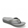 Vionic Women's Tide II Toe Post Sandal - Pewter Metallic 44TideII - ShoeShackOnline
