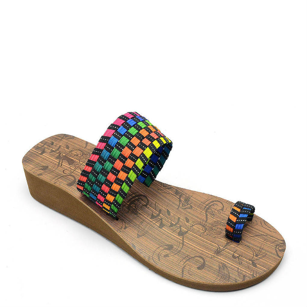 Corkys Women's Toasty | Black Multi 40-3118 - ShoeShackOnline