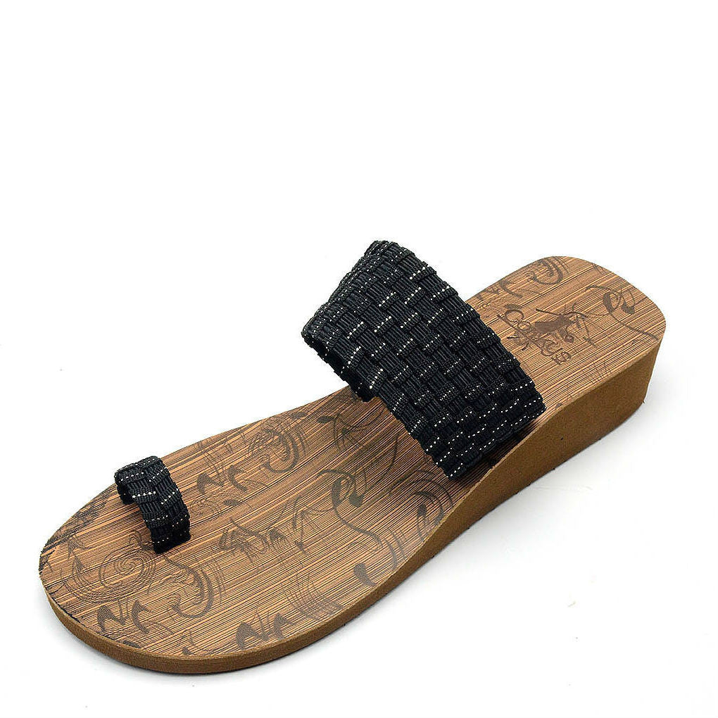 Corkys Women's Toasty | Black/Silver 40-3118 - ShoeShackOnline