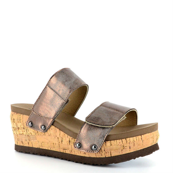 Corkys Women's Two-Way | Brushed Bronze 30-5240 - ShoeShackOnline