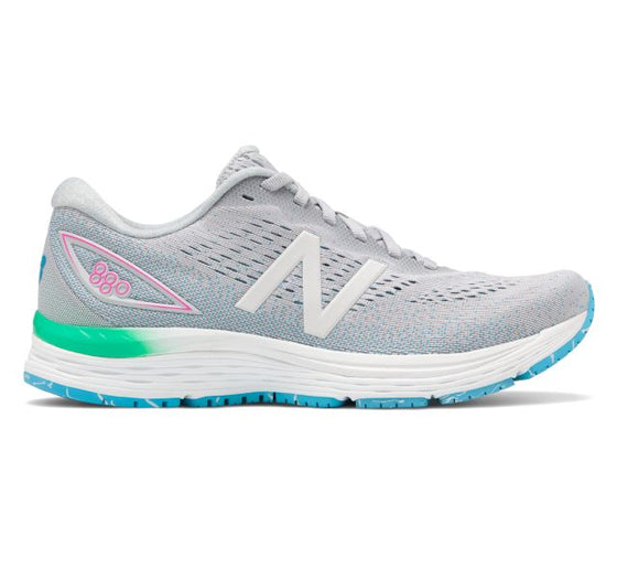 New Balance Women's 880v9 Running Shoe - Light Aluminum W880PP9 - ShoeShackOnline