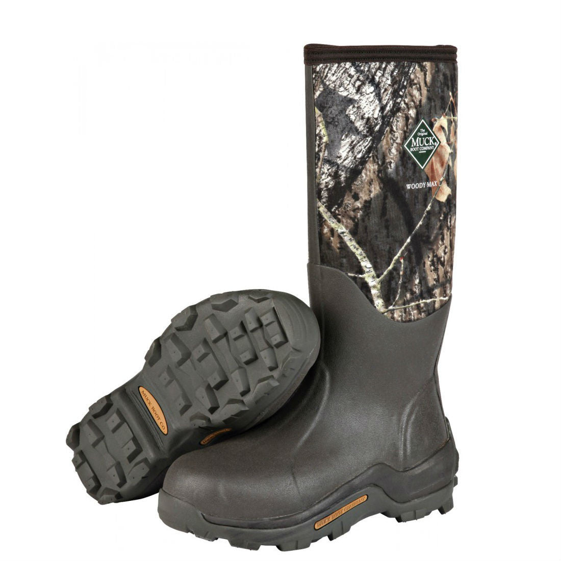 Muck Boots Woody Max Cold-Conditions Hunting Boot - Mossy Oak Break-Up WDM-MOBU