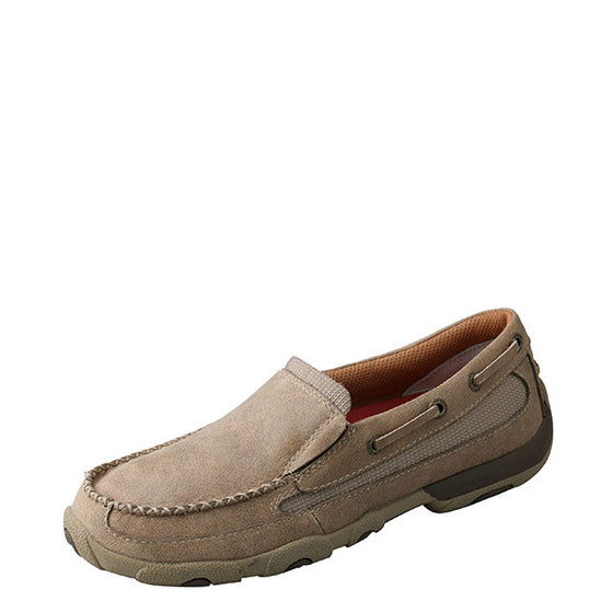 Twisted X Women's Slip-On Driving Moccasin - Bomber WDMS002