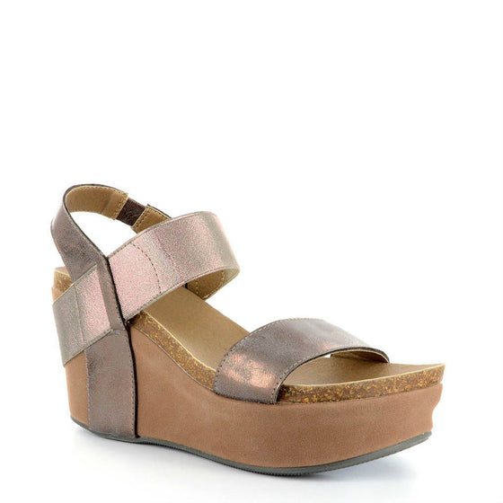 Corkys Women's Wedge | Brushed Bronze 30-5229