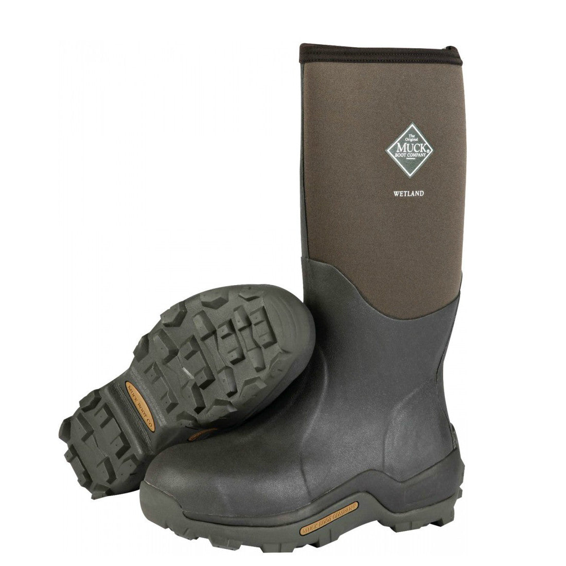 c8de8fa7db348 Muck Boots Wetland Premium Field Boot - Bark WET-998K - ShoeShackOnline