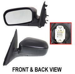03-05 honda civic left driver side mirror_HO06A1320A