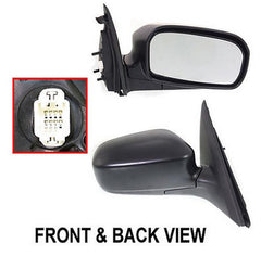 03-05 honda civic right passenger side mirror_HO1321142