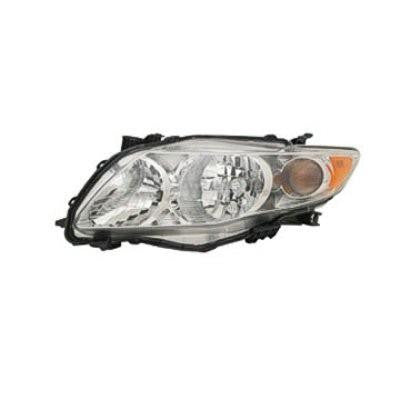 2009-2010 Toyota Corolla Headlight, Driver side, Passenger side, new