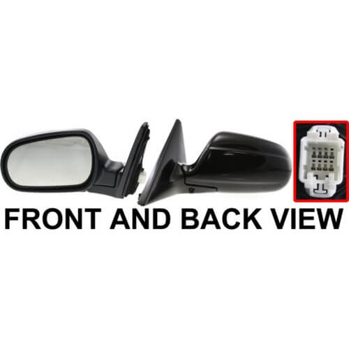 2000 Acura Integra Driver Side Door Mirror (2DR HB (Exc. RS Model) Non-Heated, Power, Manual Folding)-AC1320101
