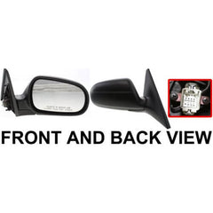 2000 Acura Integra Passenger Side Door Mirror (2DR HB Exc. RS Model) Non-Heated, Power, Manual Folding) - AC1321101