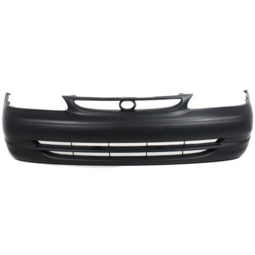 1998-2000 Toyota Corolla Front Bumper; Sedan; Primed; TO1000189; 5211902903