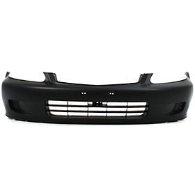 1999-2000 Honda Civic Front Bumper; Coupe/Sedan/Hatchback; HO1000184; 04711S01A01ZZ