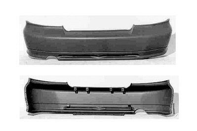 1999, 2000, 2001 Mitsubishi Galant Rear Bumper Cover (Primed and Ready for Paint)