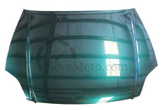 2000 Honda Civic Hood Painted Clover Green Pearl_G95P