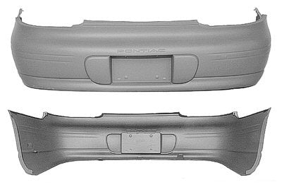2000-2003 Pontiac Grand Prix Rear Bumper (GT_GTP Models) - GM1100532