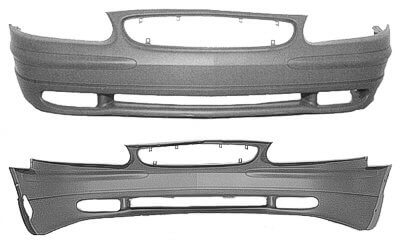2004 Buick Regal : Front Bumper Painted