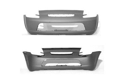 2000-2001 Toyota MR2 Spyder Rear Bumper (Primed and Ready for Paint)