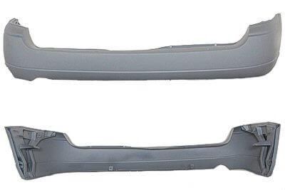 2000-2001 Ford Focus Rear Bumper Sedan (Primed, and Ready for Paint)