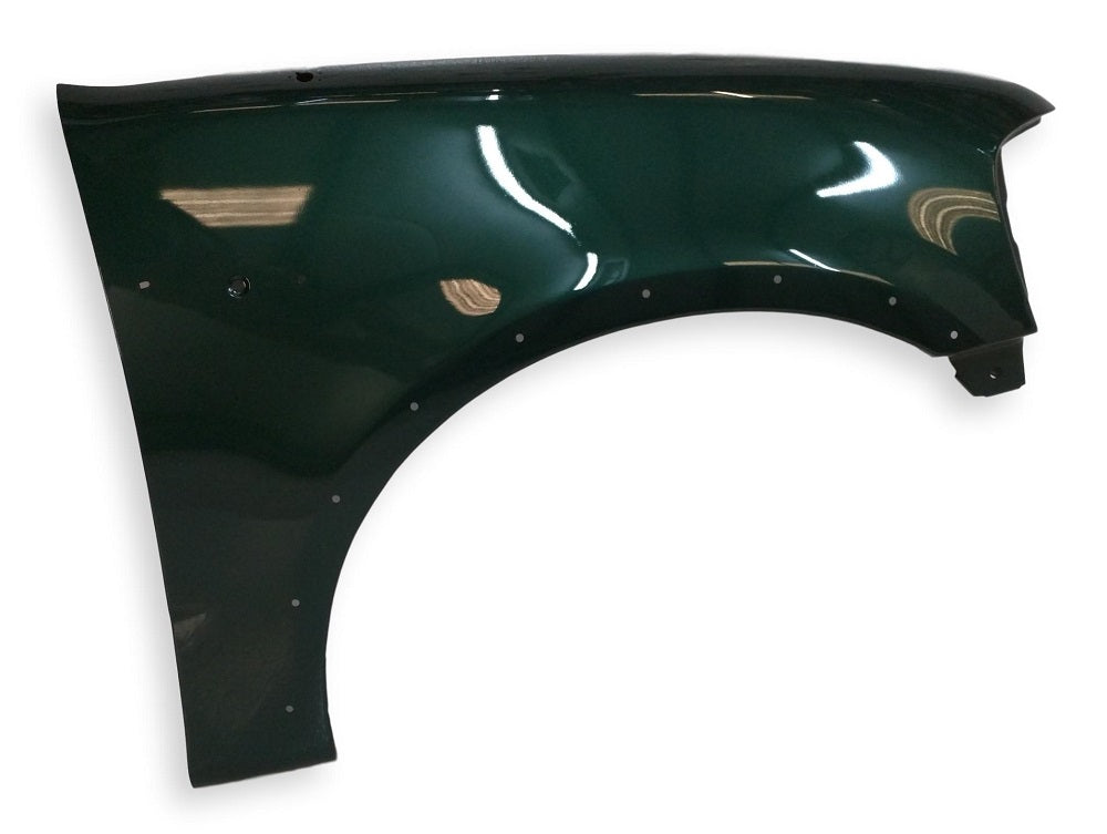 2000 Ford F-150 Passenger Side Fender, With Molding Hole, Painted Amazon Green Metallic (SU)