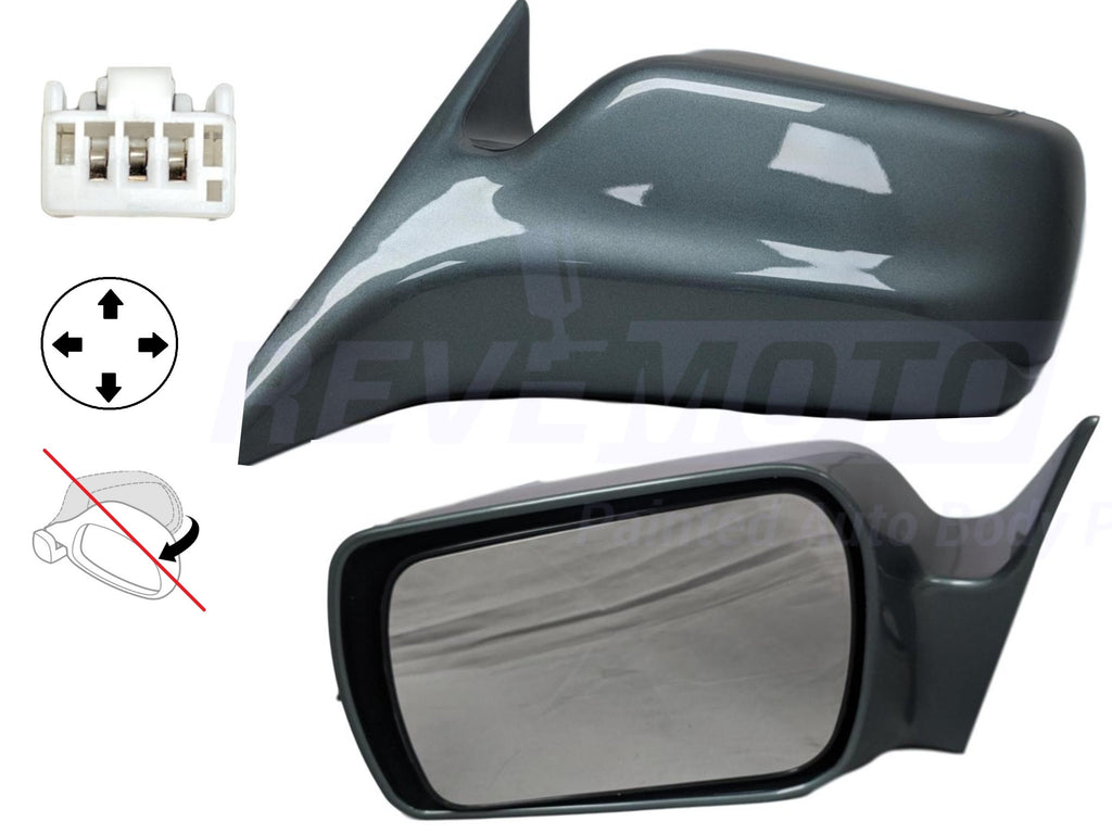 2000-2004 Toyota Avalon Mirror (Driver Side) 00-04; XL_XLS Models; Heated Glass; Non-Folding; w_ Memory; 87940AC030C0