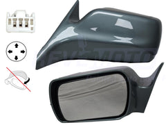 2001_Toyota_Avalon_Driver_Side_View_Mirror_XL_XLS_Power_Non-Heated_Non-Folding_Without_Memory_Painted_Silver_Spruce_Metallic_6M3__87940AC011C0