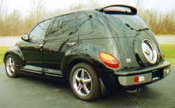 2003 Chrysler PT Cruiser Spoiler Painted To Match Vehicle