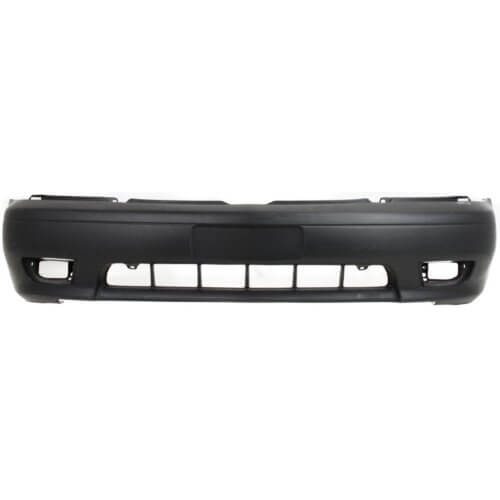 2001-2003 Toyota Sienna Front Bumper; Textured Gray_ Primed; TO1000219; 5211908030B0