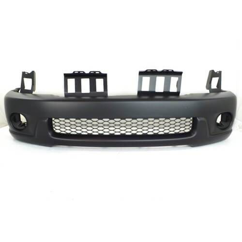 2001-2004 Toyota Sequoia Front Bumper; w_ Wheel Flare Holes; TO1000223; 521190C900