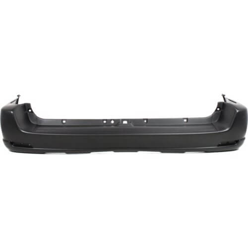 2001-2004 Toyota Sequoia Rear Bumper; w_o Wheel Opening Flares; TO1100201; 521590C901