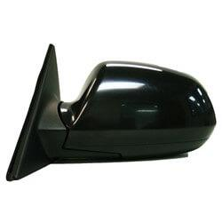 2001-2006 Hyundai Elantra Driver Side Power Door Mirror (GLS-GT Models; Hatchback; Heated; Power; Manual Folding) HY1320128