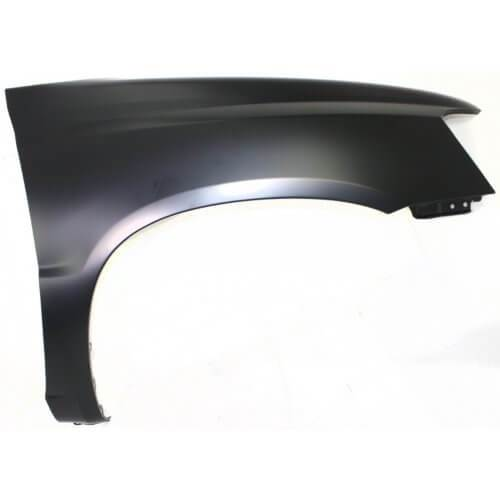 2001-2007 Toyota Highlander Fender (Driver Side); Also Fits Hybrid Models (06-07)- w_o Antenna Holes; w_o Lamp Hole; TO1240187; 5380248070