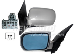 2001 Acura MDX Driver Side View Mirror, Heated, Without Memory, Without Touring Pkg, Painted  Starlight Silver Metallic (NH638M)_76250S3VA04ZA