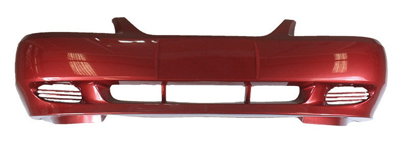 2001 Ford Mustang Front Bumper Painted Laser Red Metallic (E9)