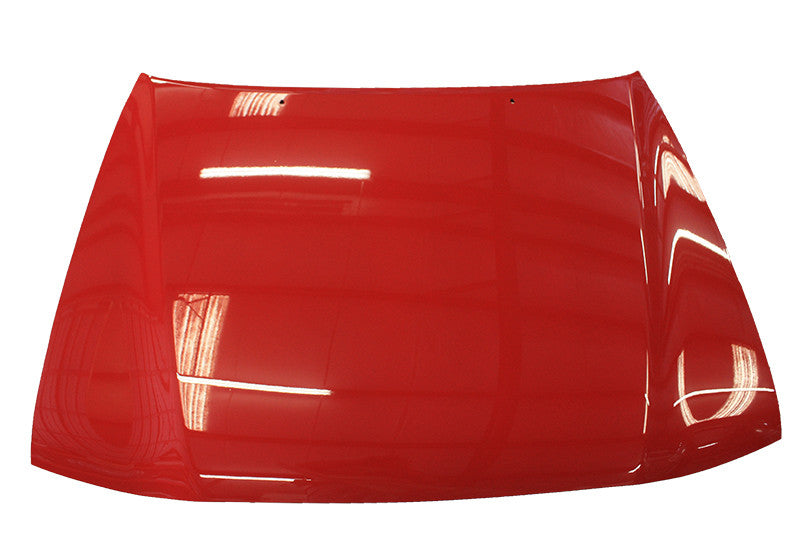 2001 Toyota Tacoma Hood Painted Radiant Red (3L5)