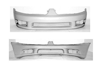 2002-2003 Mitsubishi Galant Front Bumper Cover (Primed and Ready for Paint)